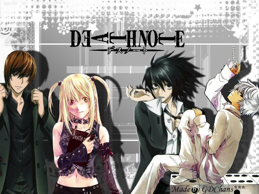 Image For > Death Note Wallpapers Near