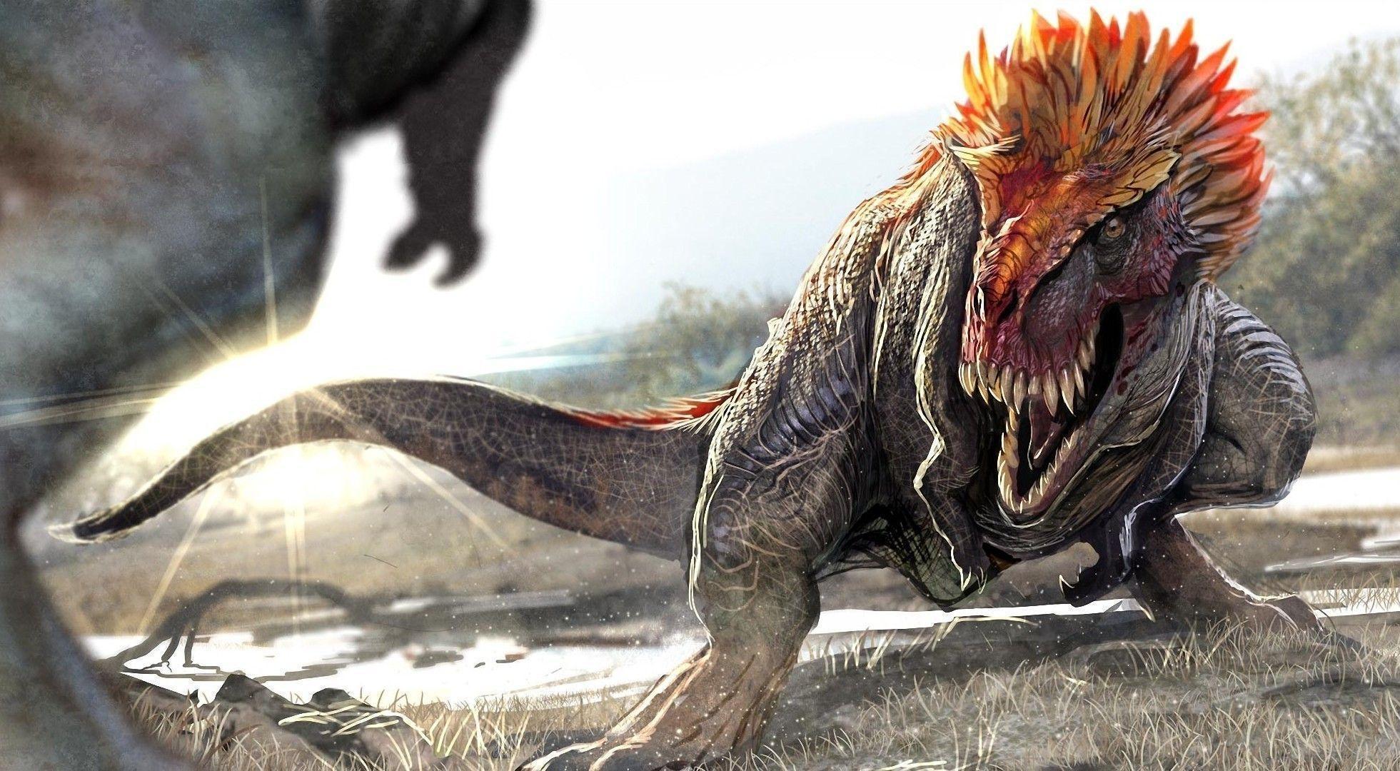 Dinosaurs Zoom Background 3