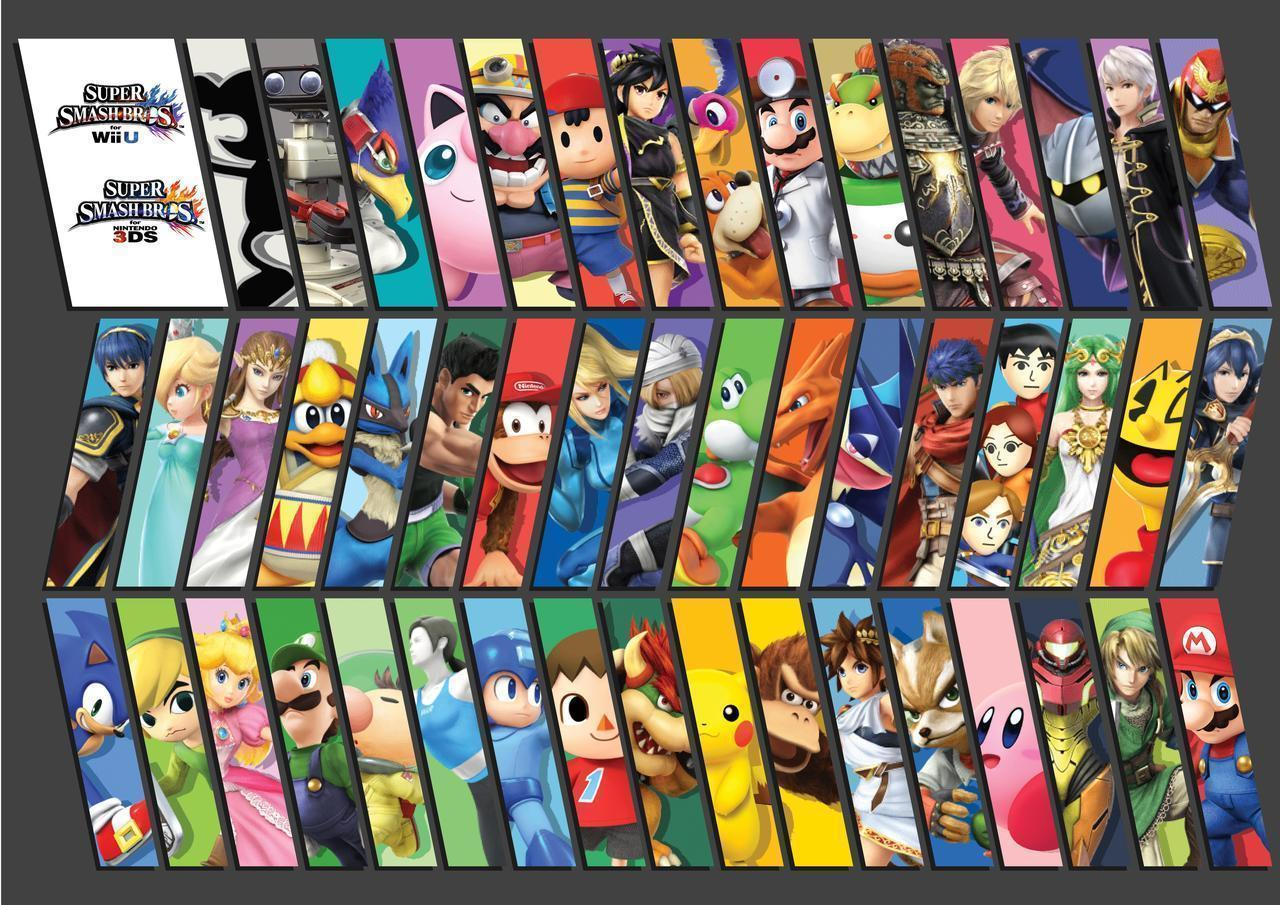 Super Smash Bros. Wii U/3DS Wallpapers 2 by PacDuck