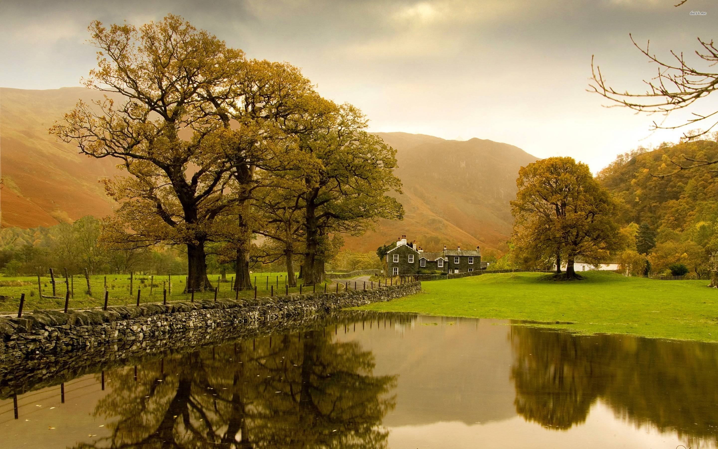 English countryside wallpapers wallpaper cave for Countryside wallpaper for walls