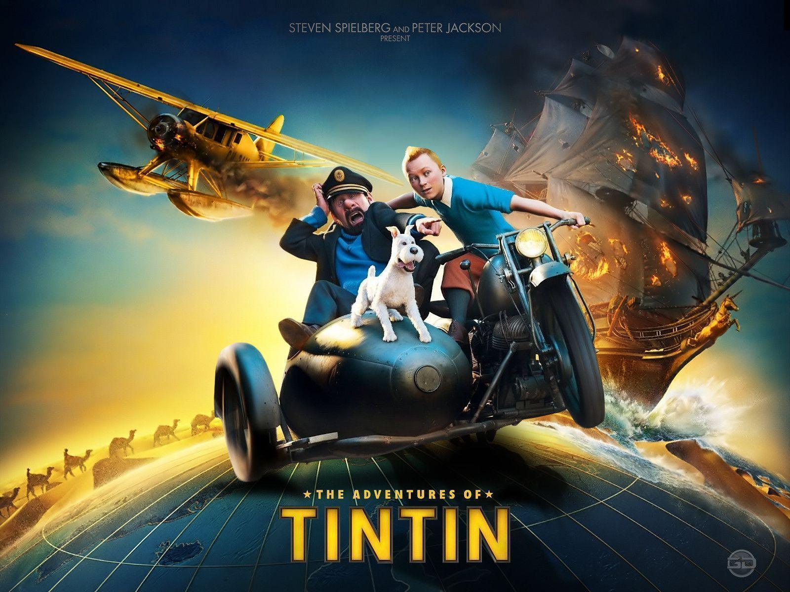 Adventure Of Tintin Movie List