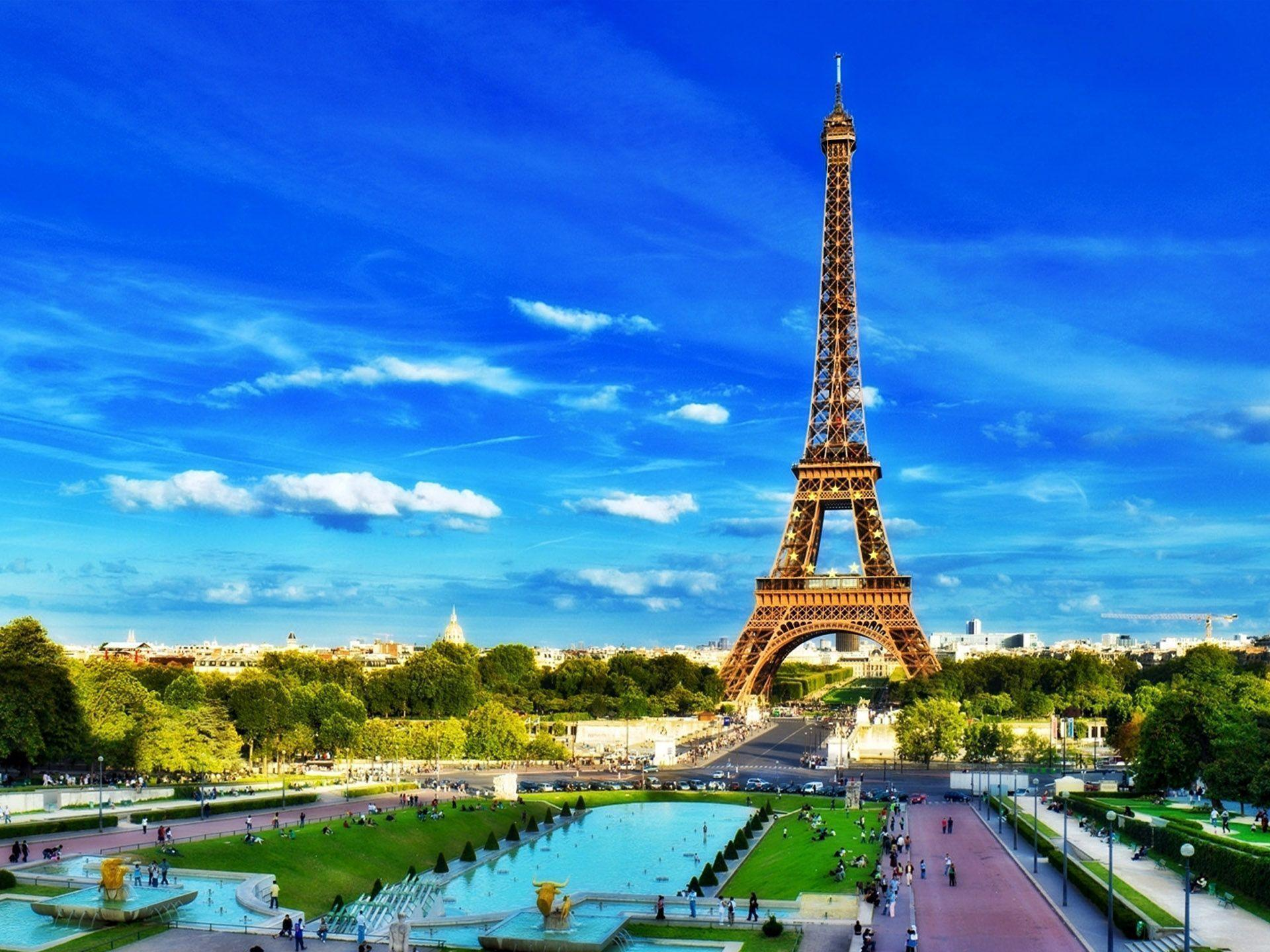 Paris Garden HD Wallpapers Desktop Wallpapers