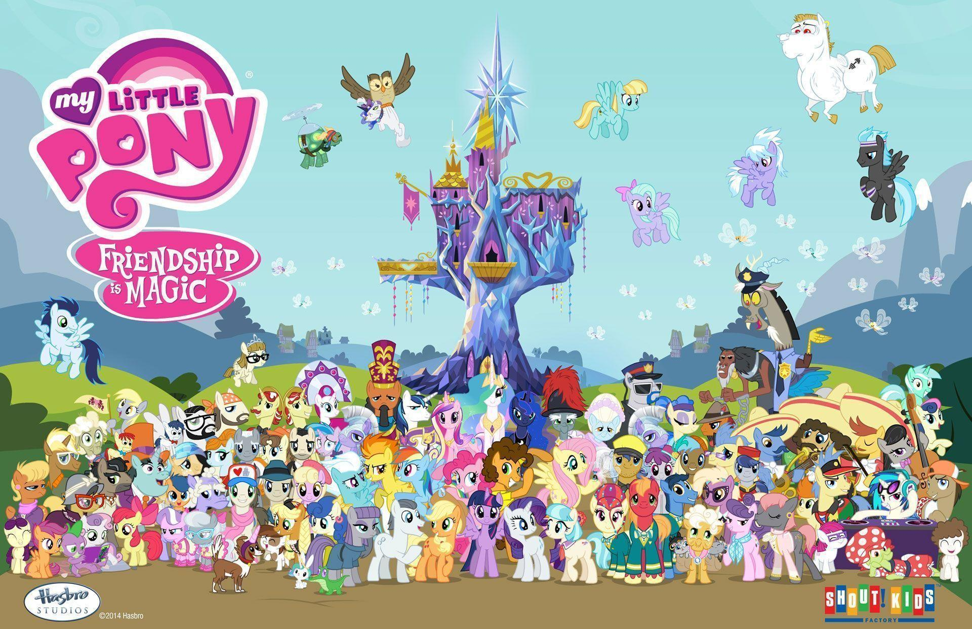 Shout! Factory - The Top 5 My Little Pony: Friendship Is Magic ...