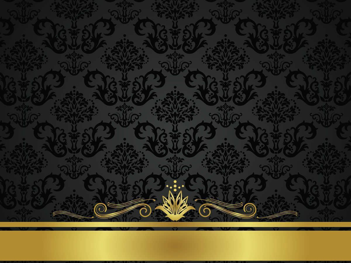 Gold and black backgrounds wallpaper cave for Dark blue and gold wallpaper