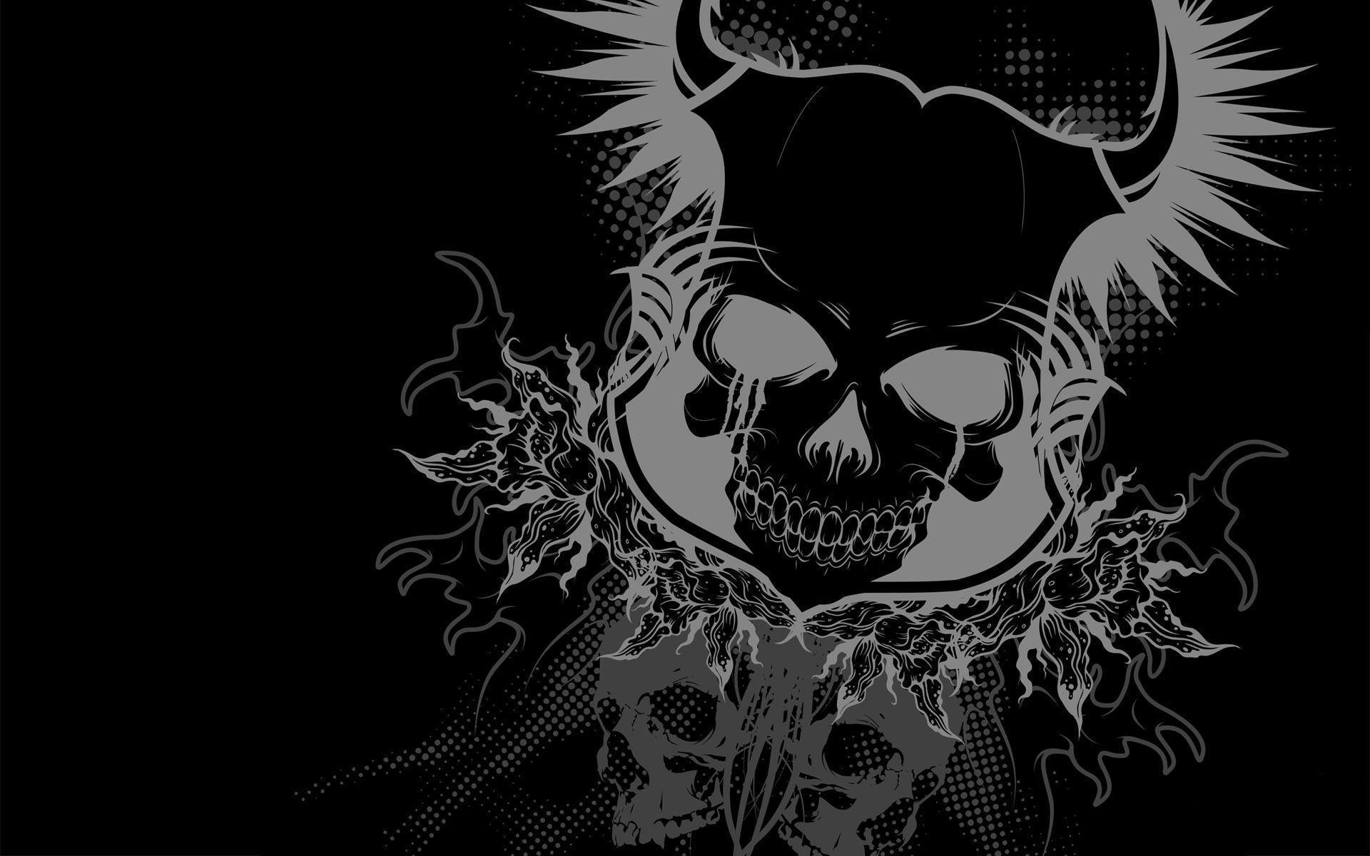 cool rock skull live wallpaper - photo #29