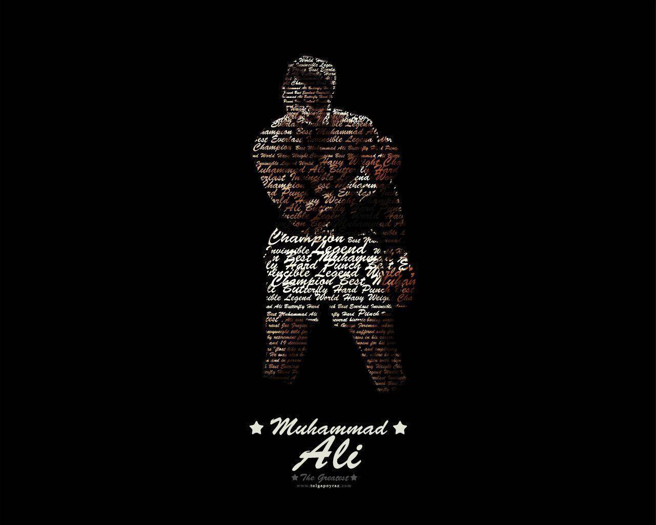 Pubg Quotes Wallpaper: Muhammad Ali Desktop Wallpapers