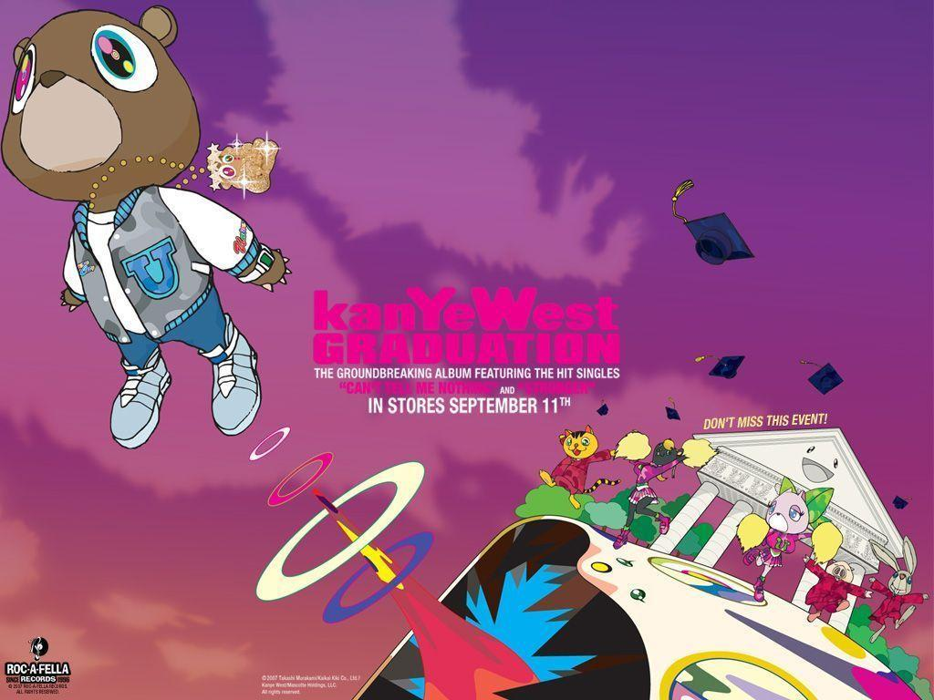 Kanye West Graduation Wallpapers Wallpaper Cave