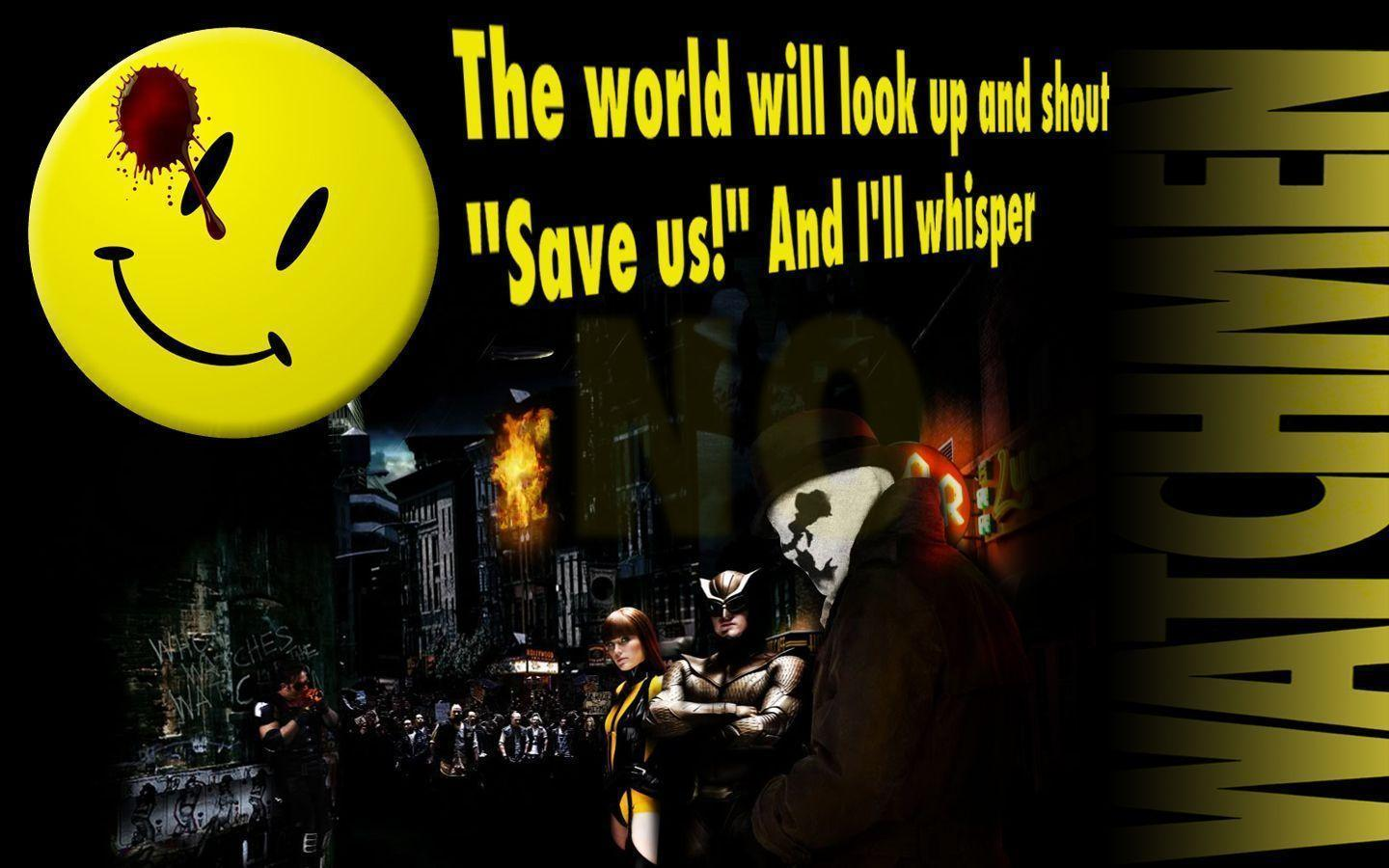 Watchmen The Comedian Quotes Wallpapers