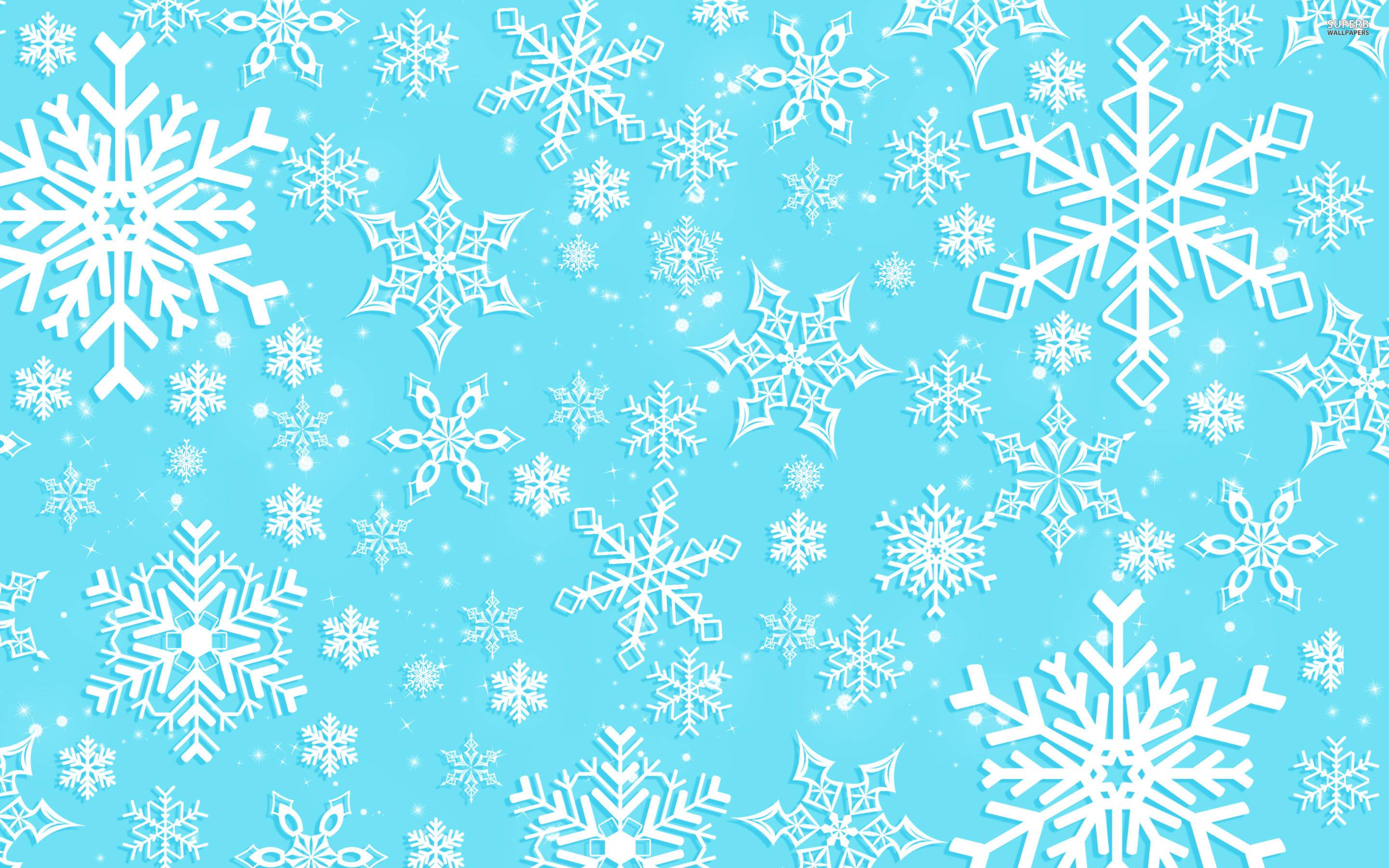 Snowflakes wallpapers wallpaper cave