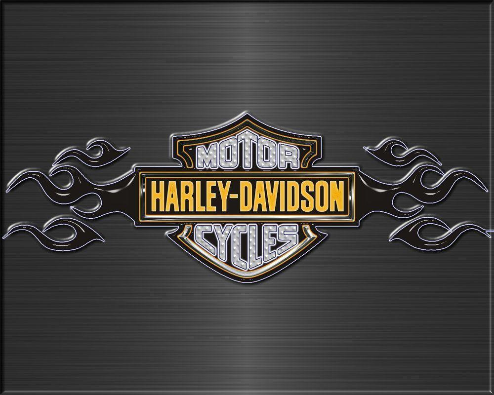 newest harley davidson logo wallpapers - photo #1