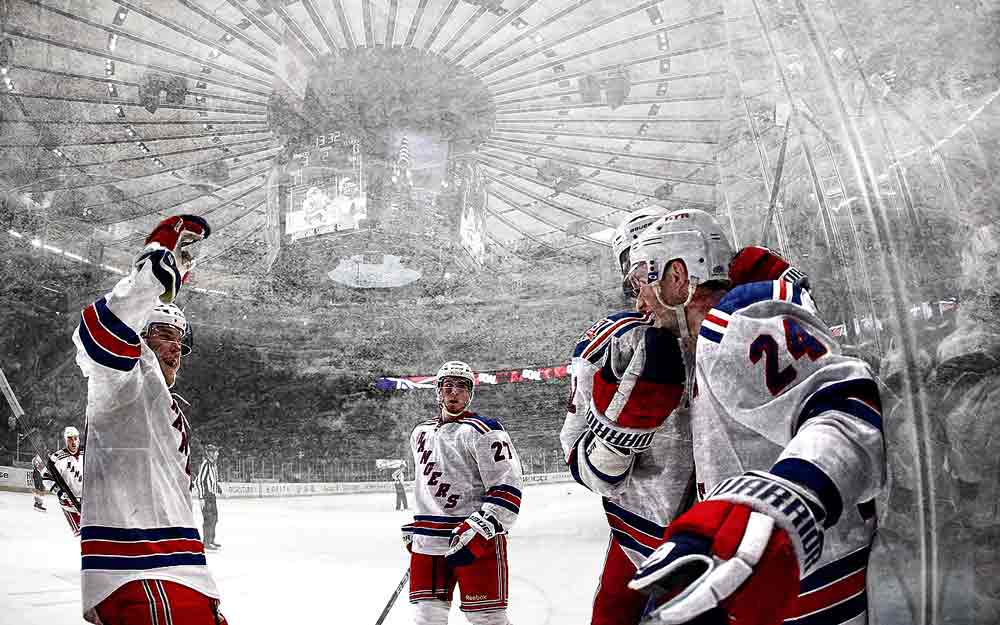 Free Wallpapers - New York Rangers Celebration wallpaper