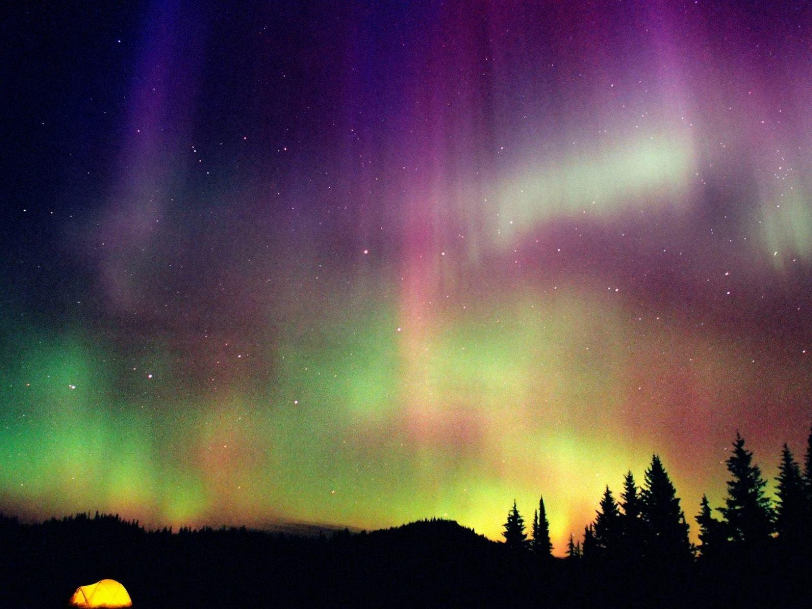 Rainbow Northern Lights High Definition Wallpapers HD