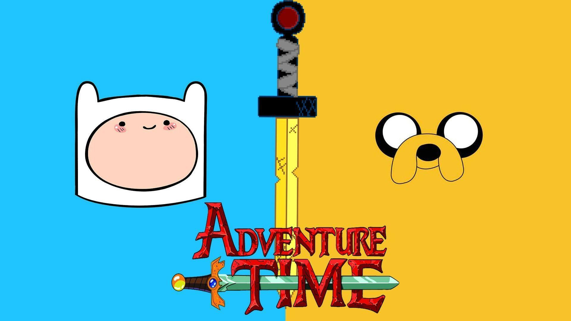 adventure time blue background - photo #41