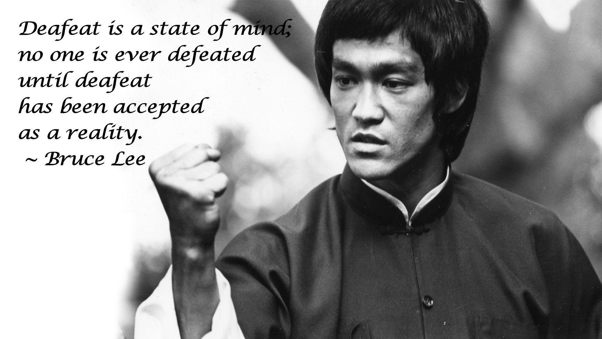 Bruce Lee Quote Wallpapers Actor Wallpapers