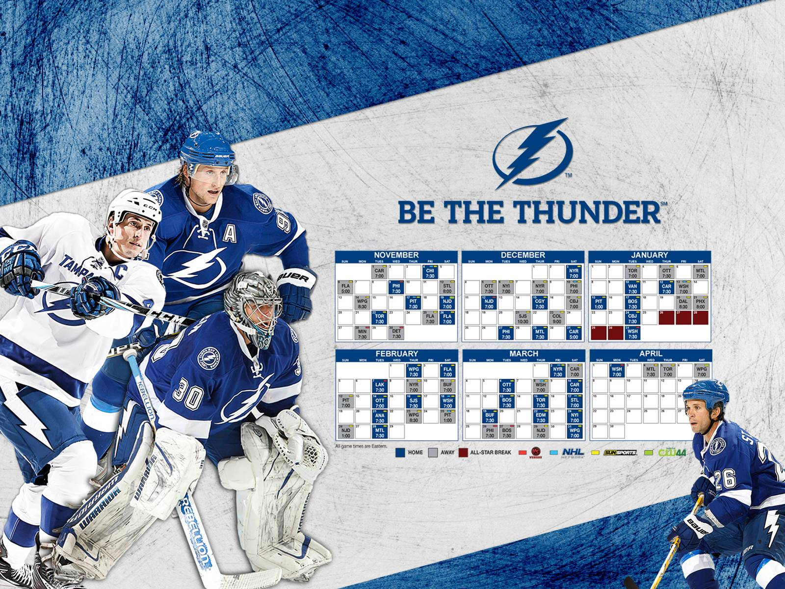 TBL 2011-12 Schedule - Tampa Bay Lightning Wallpaper (28452501 ...
