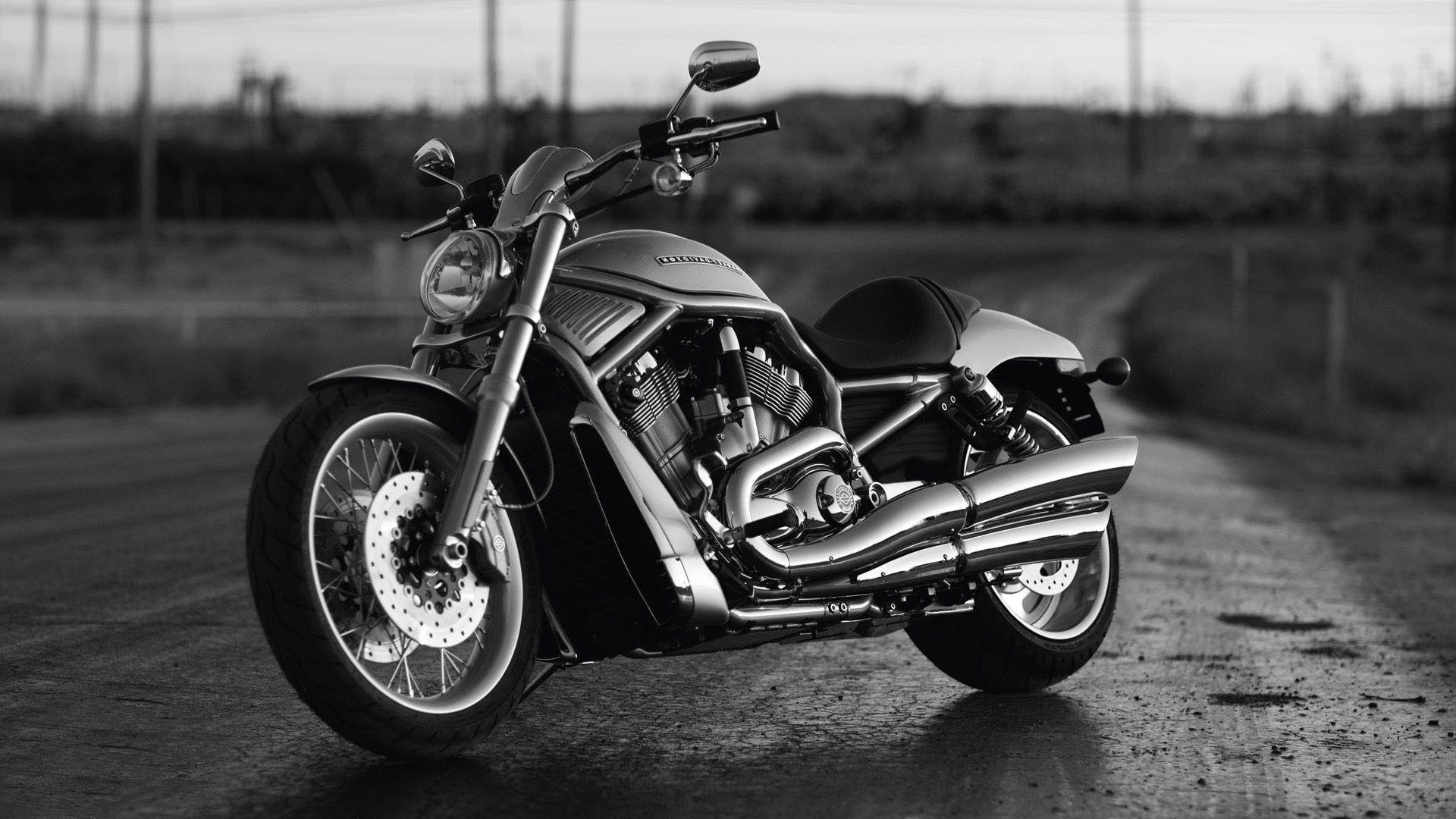 Harley Davidson VRSCF Black Wallpaper HD #12113 Wallpaper ...