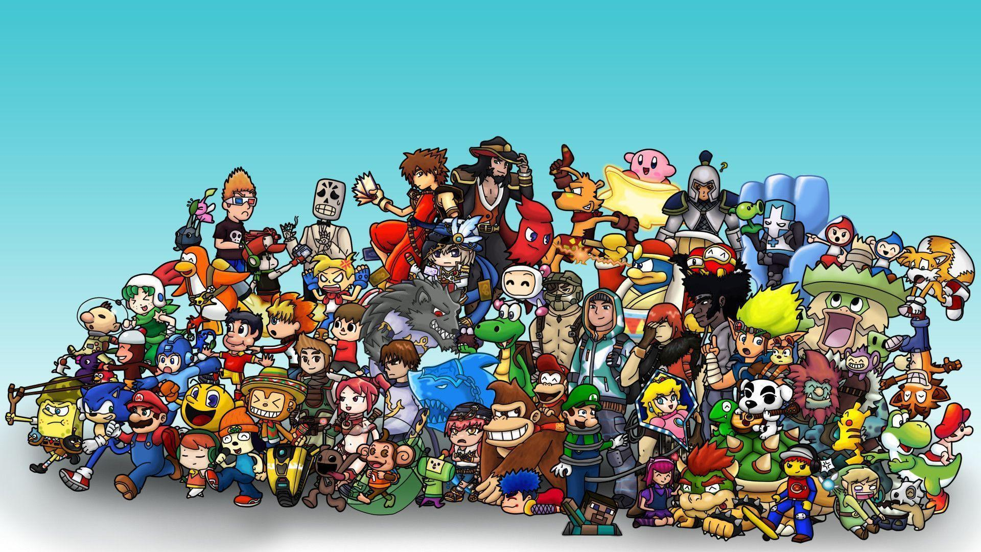 Character Design Wallpaper : Video games wallpapers wallpaper cave