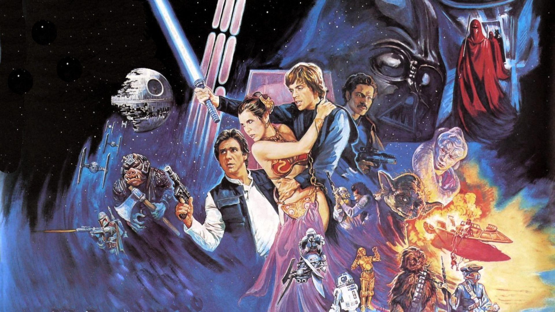 Movie Star Wars Episode VI: Return Of The Jedi Wallpaper 1920x1080 ...