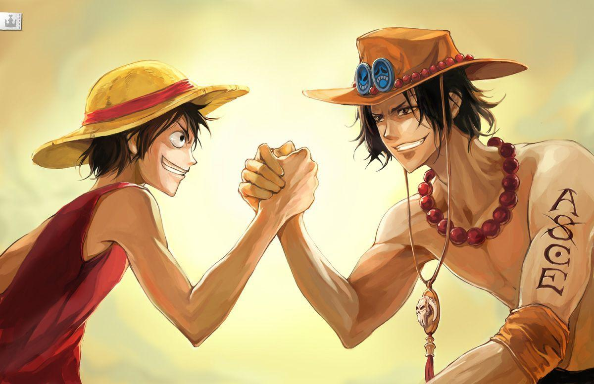 Luffy And Ace Brothers One Piece HD Wallpaper