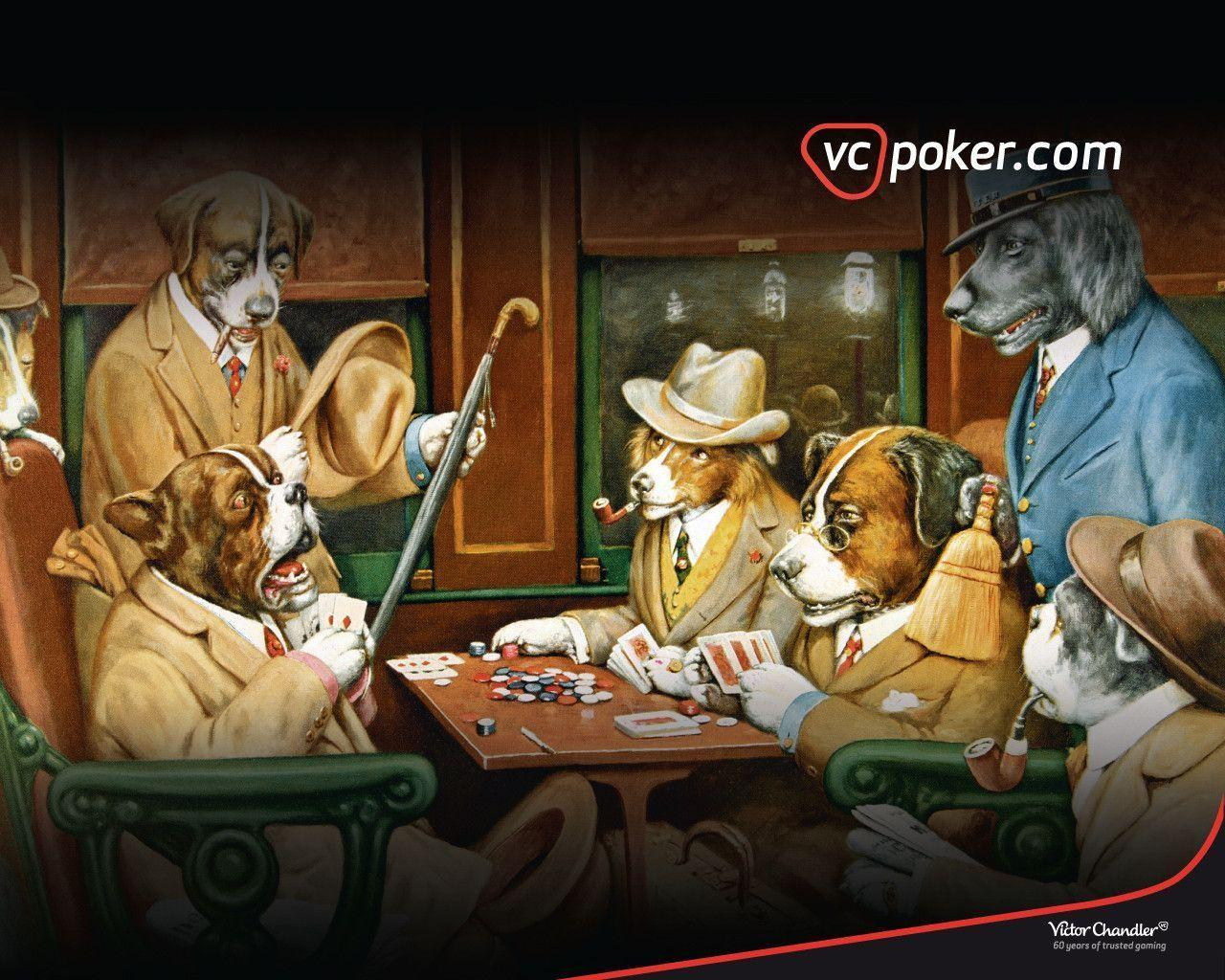 Dogs Playing Poker Wallpapers - Wallpaper Cave