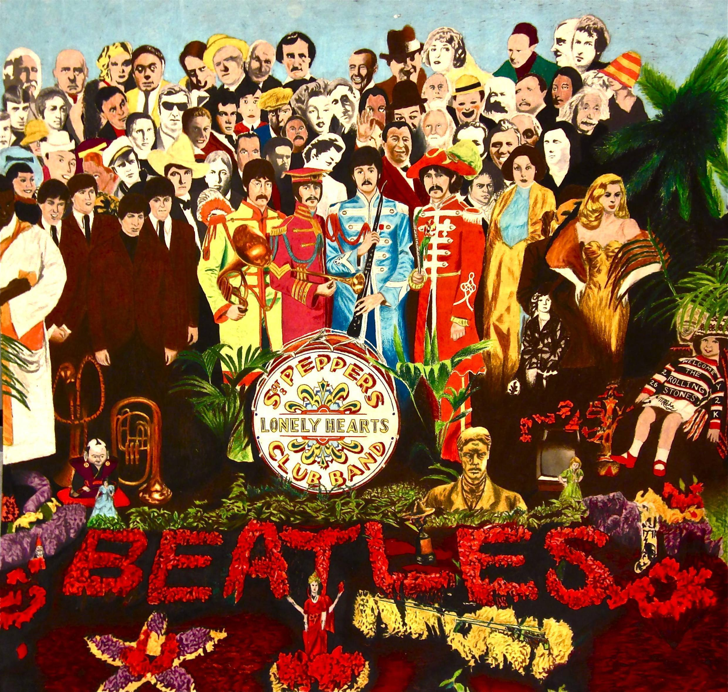 Sgt Pepper Wallpapers Wallpaper Cave