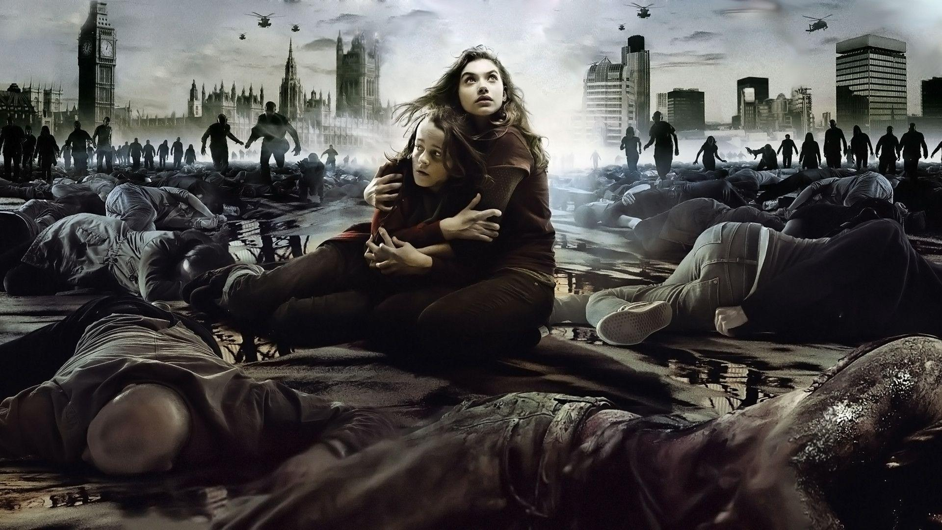 Download Wallpapers 1920x1080 28 weeks later, zombies, alone, city