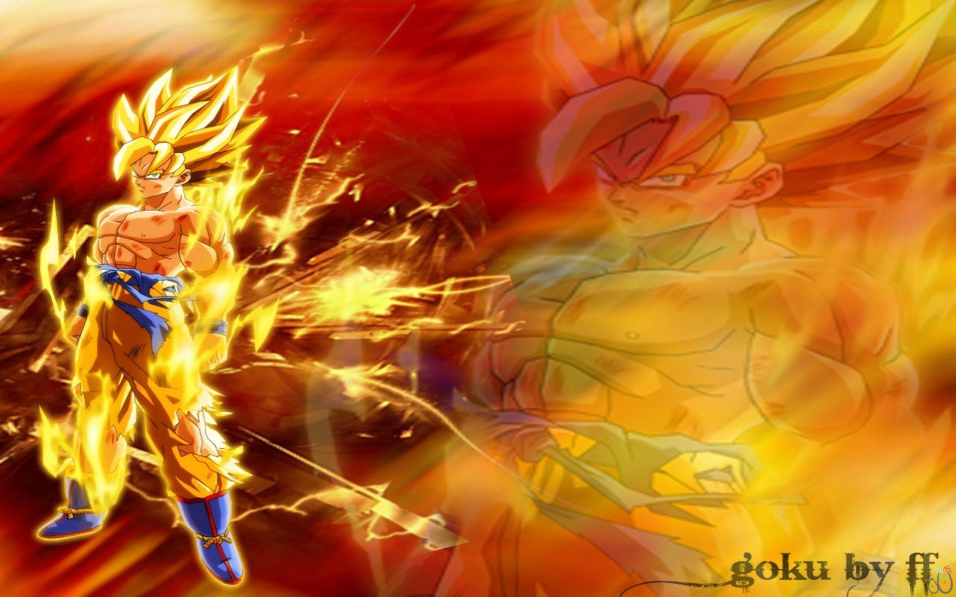 Dragon ball z goku wallpapers wallpaper cave - 3d wallpaper of dragon ball z ...