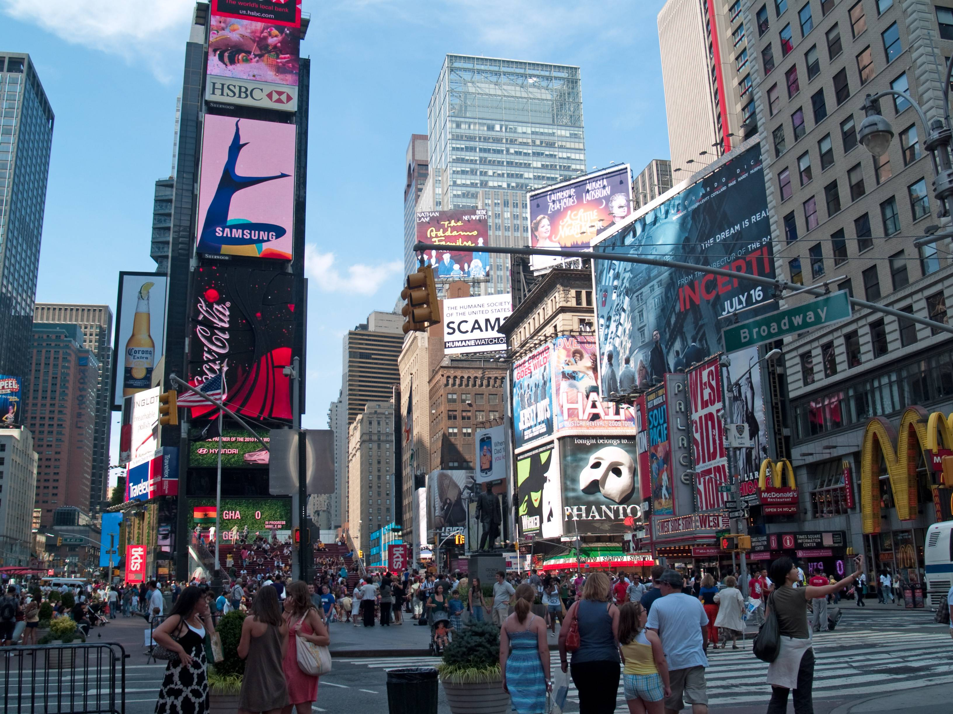 4 Times Square Wallpapers | Times Square Backgrounds