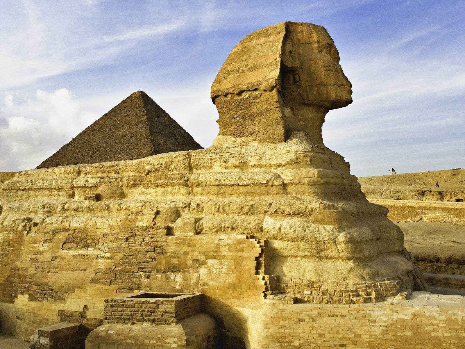 The Sphinx Near Cairo Egypt Wallpapers