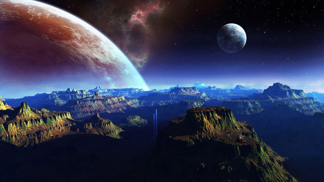 deep space hd wallpaper 1366x768 - photo #14