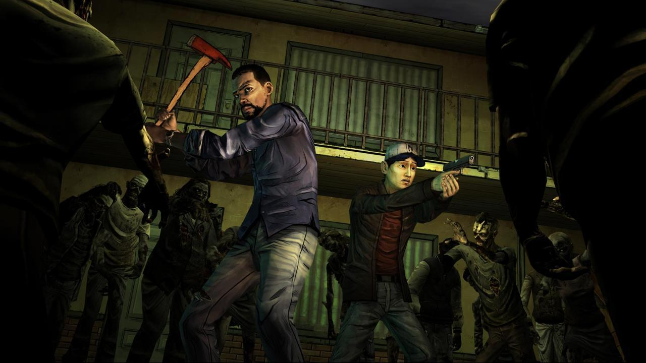 Pix For > The Walking Dead Game Wallpapers
