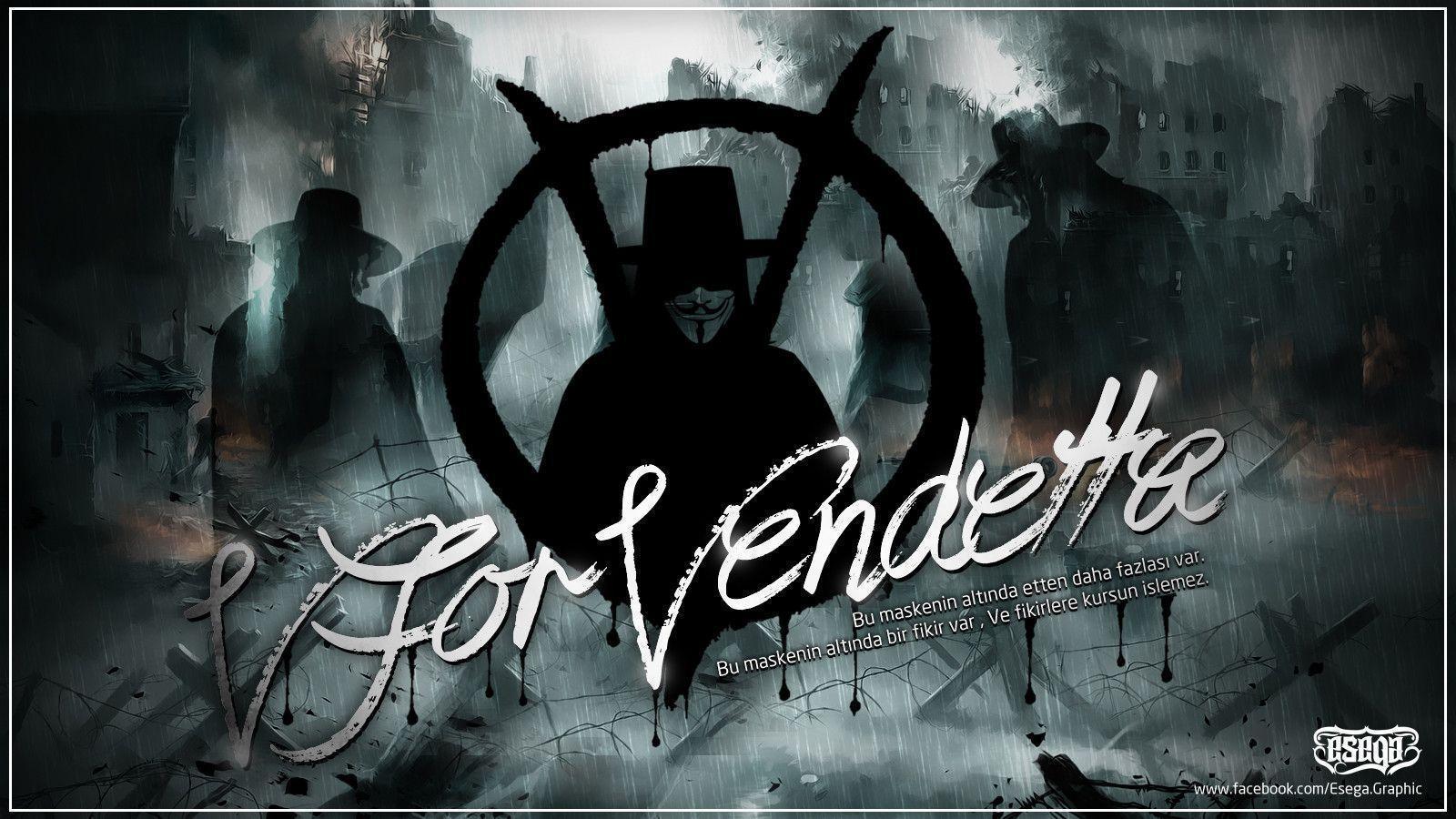 V For Vendetta Movie Wallpaper V For Vendetta Wallpap...