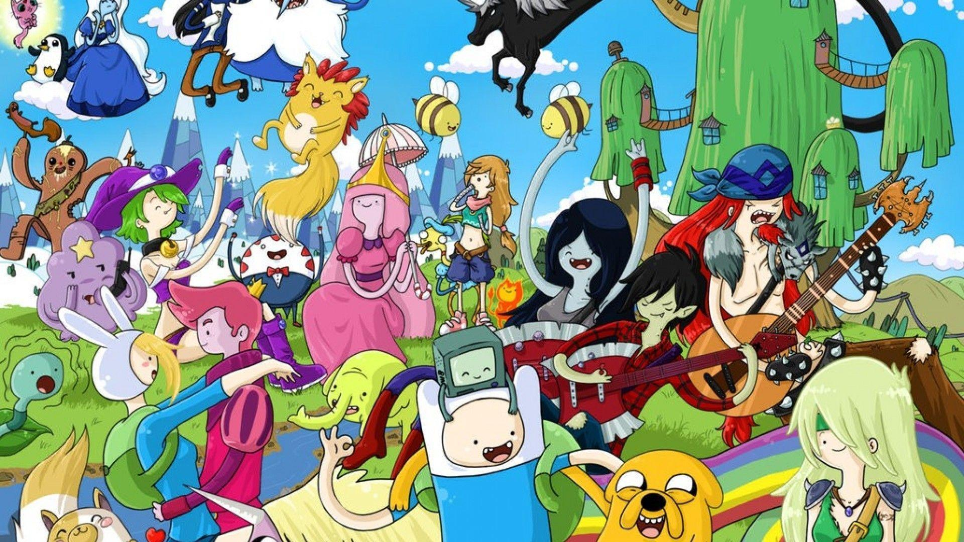 Adventure Time Screensaver Wallpaper Images 11 Cool Hd | Wallpaperiz.