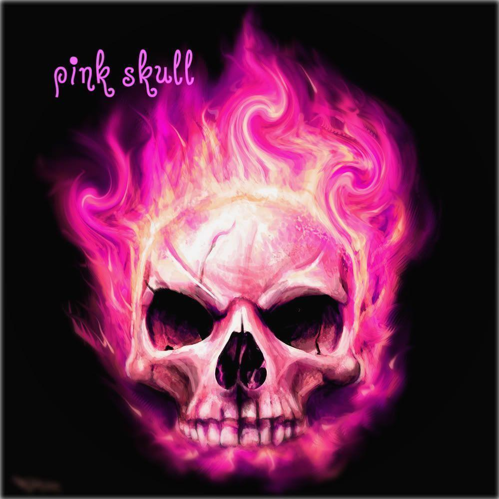 Pink Skull Wallpapers Wallpaper Cave