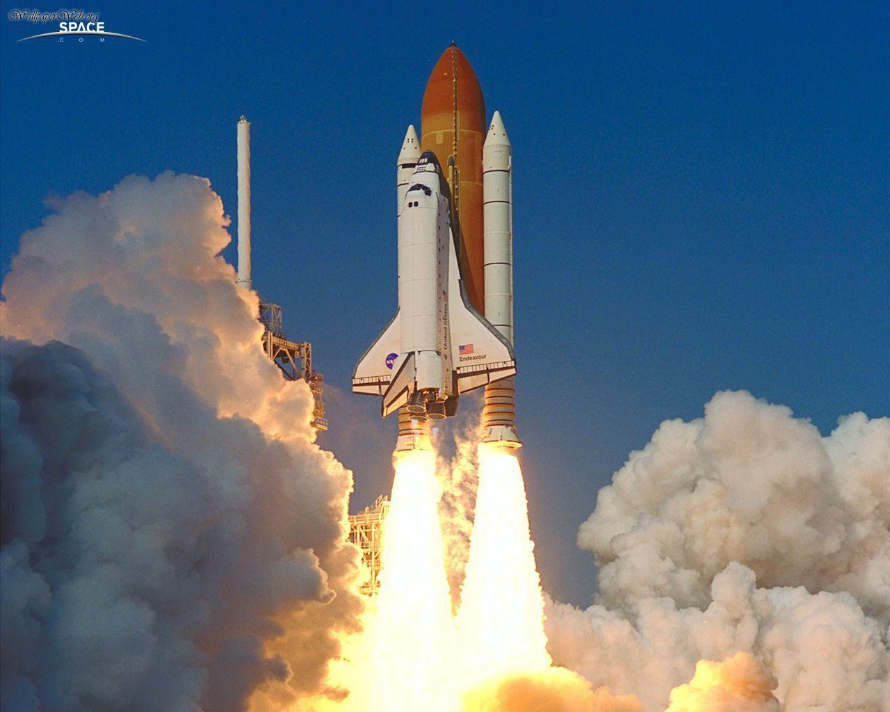 space shuttle space background - photo #2