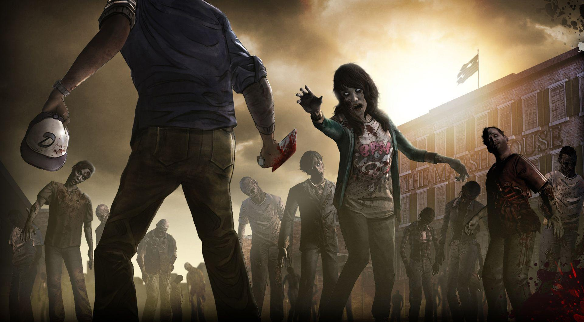 Images For > Walking Dead Game Wallpaper