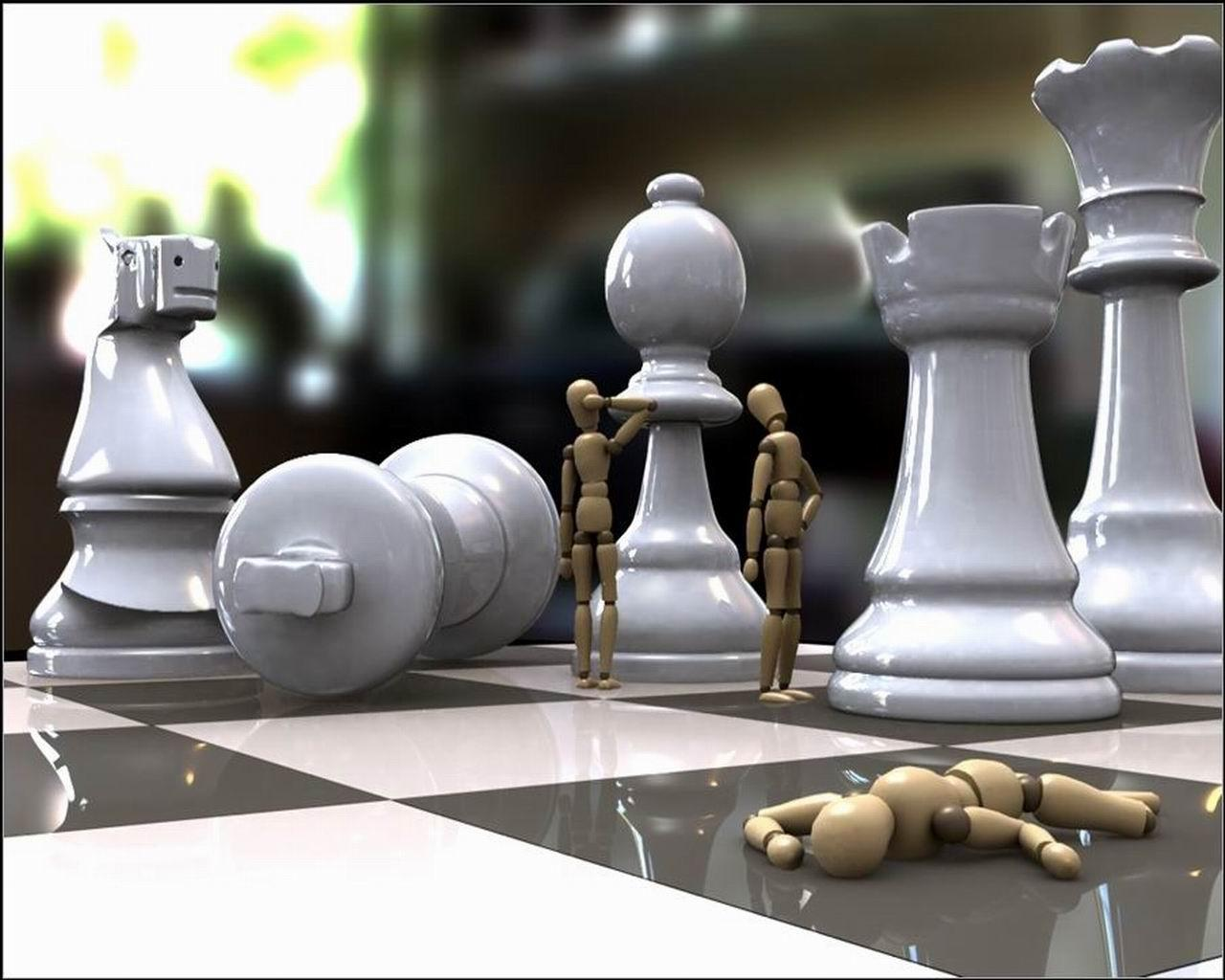 Image For > 3d Chess Board Art