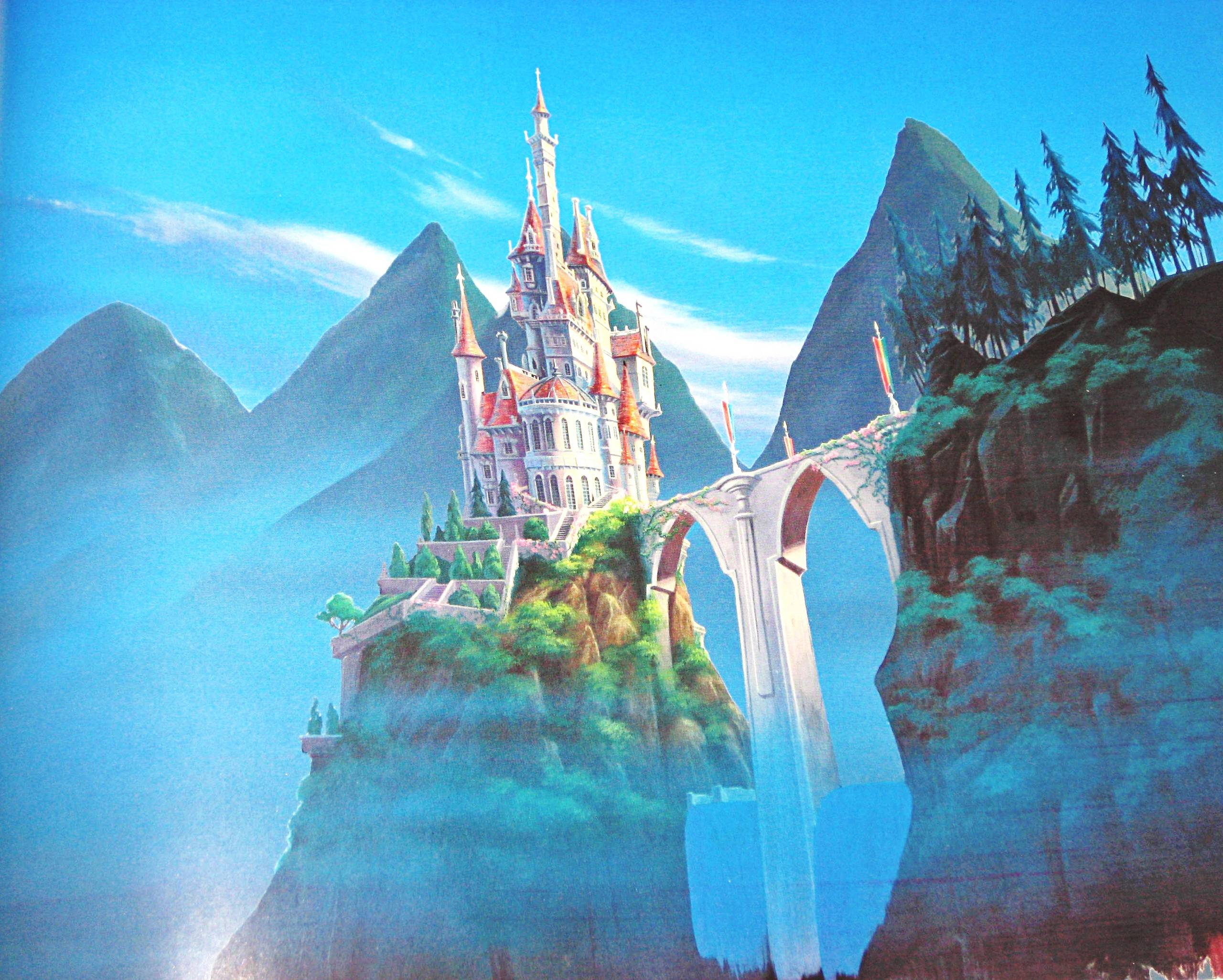 Disney Castle Backgrounds