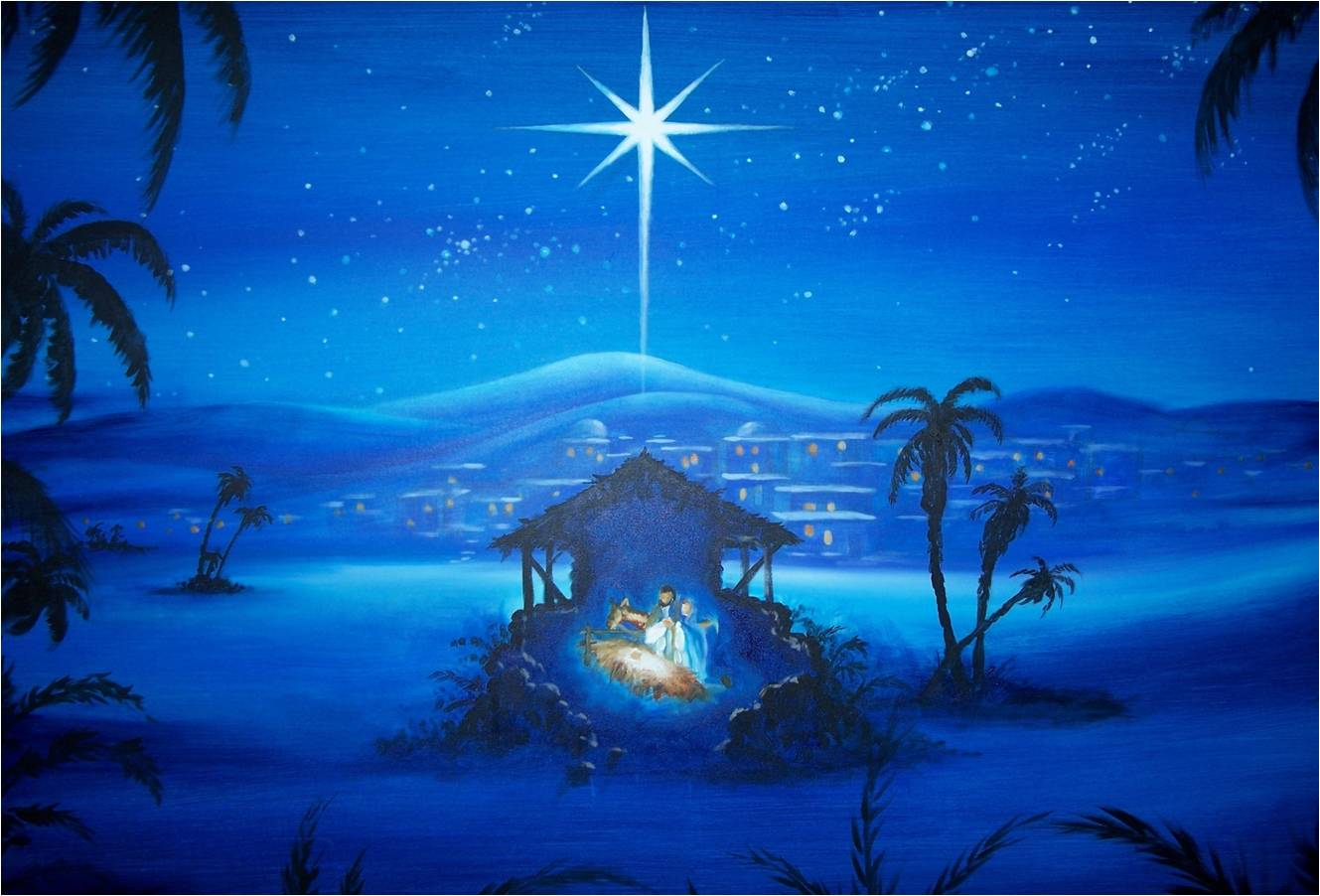 free nativity scene wallpapers