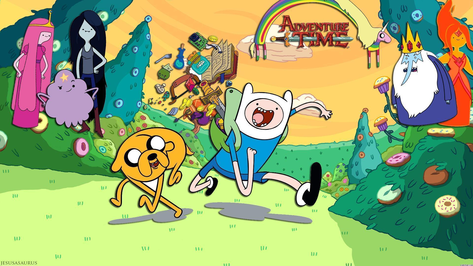 Adventure Time Wallpapers and Backgrounds - w8themes