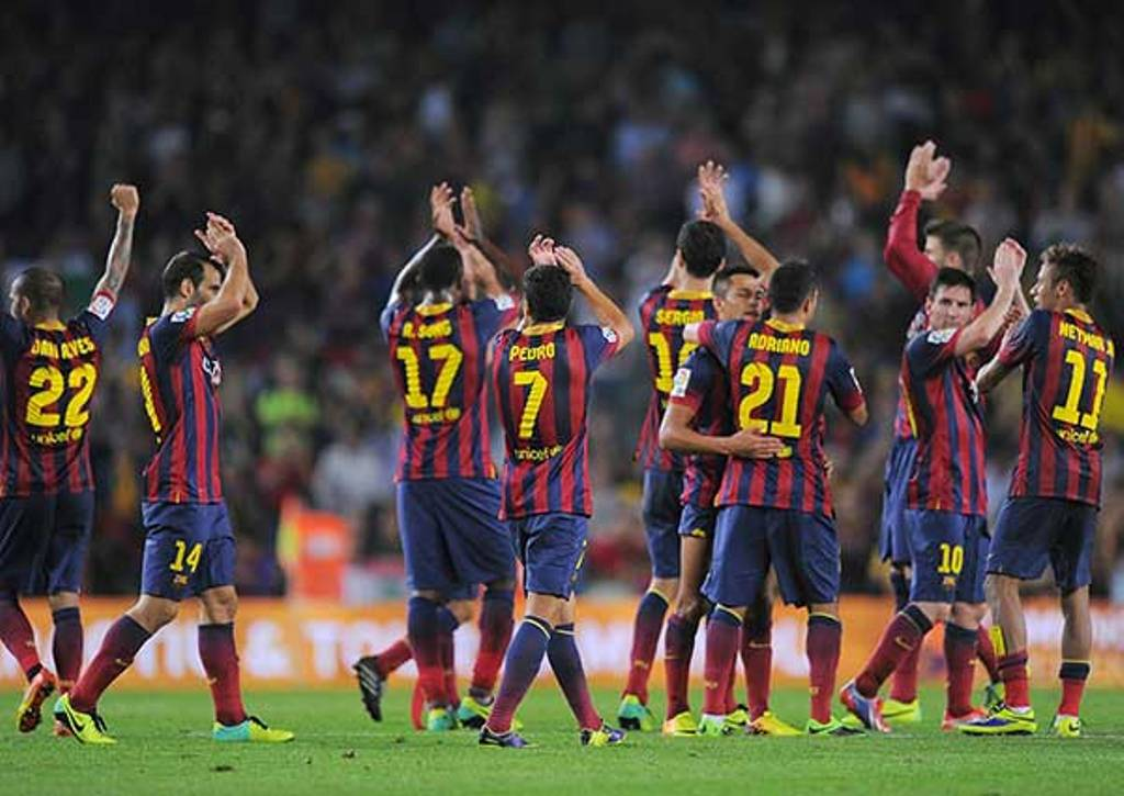 FC Barcelona 2014-2015 Team - Wallpaper HD