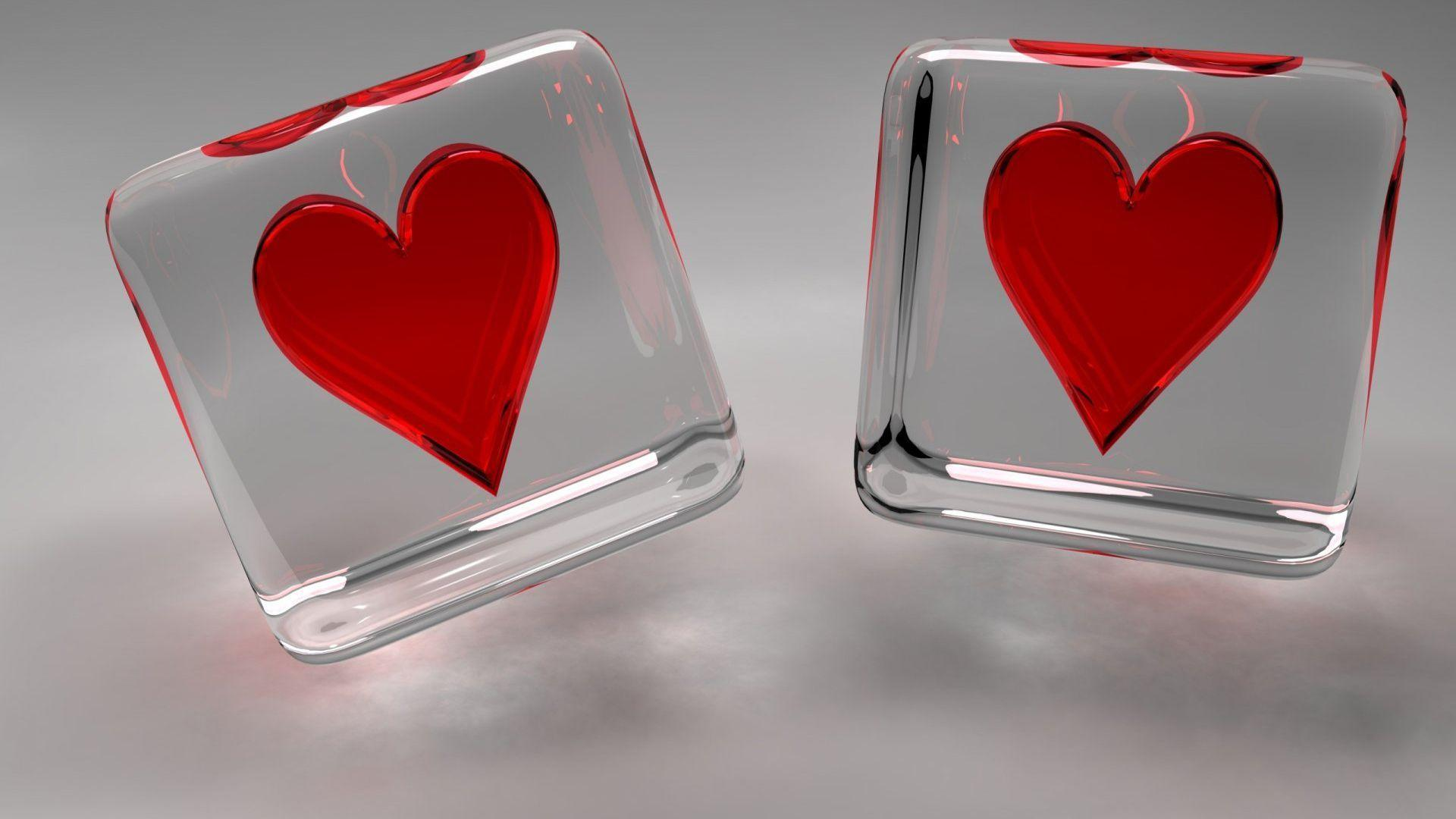 two loving heart love hd wallpaper Desktop Backgrounds Free
