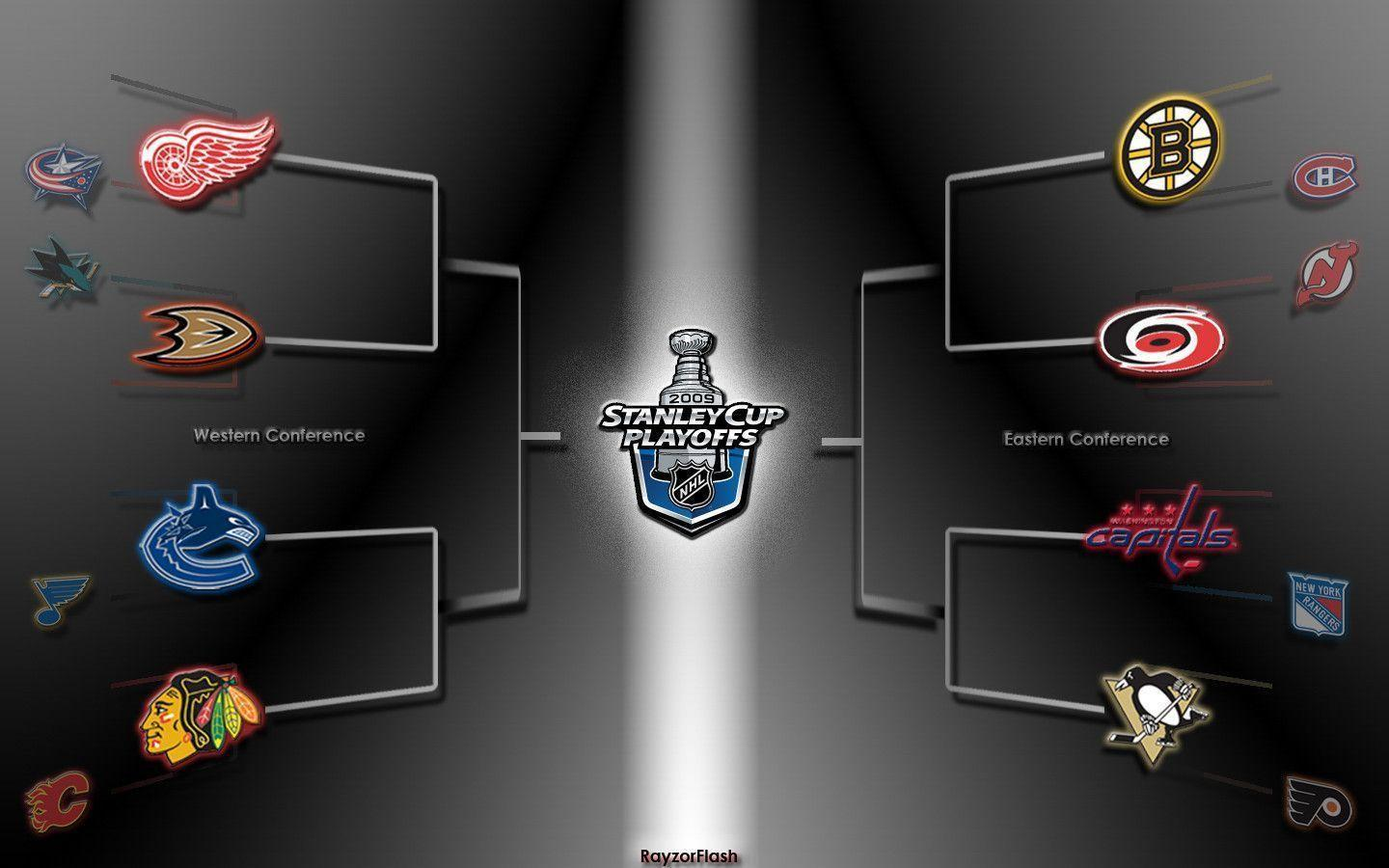 NHL 2009 Playoffs Wallpapers by RayzorFlash
