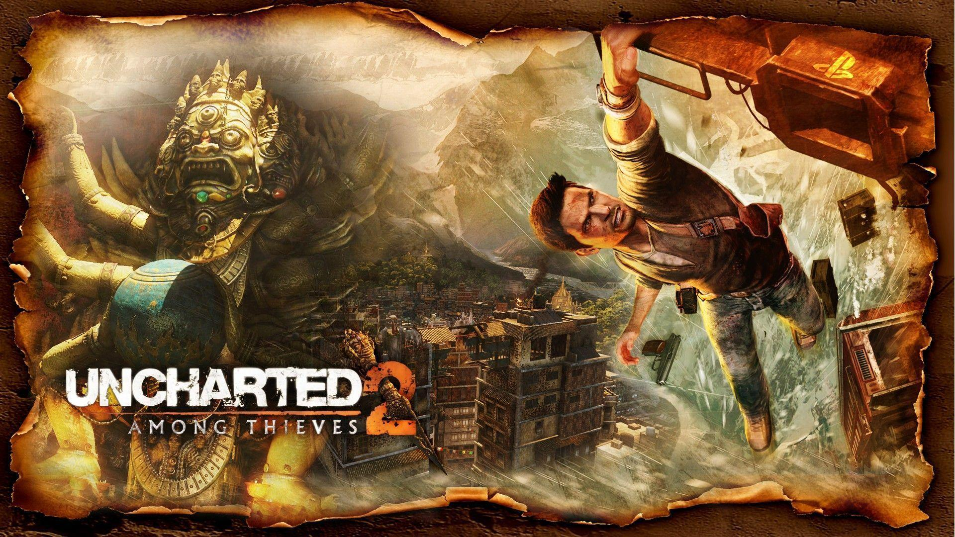 16 Uncharted 2: Among Thieves Wallpapers