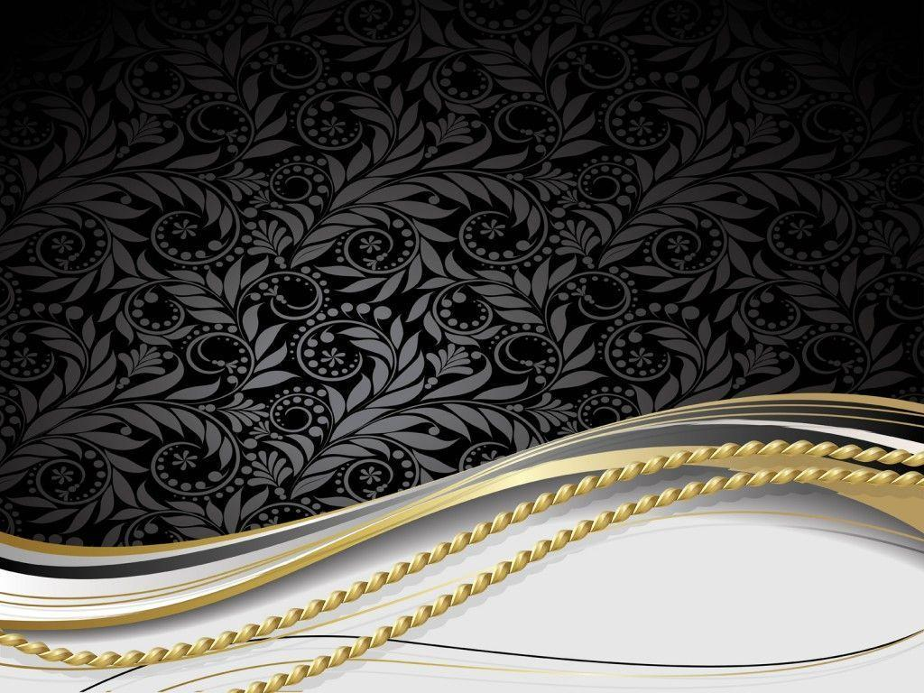 Golden Design Wallpaper : Gold and black backgrounds wallpaper cave