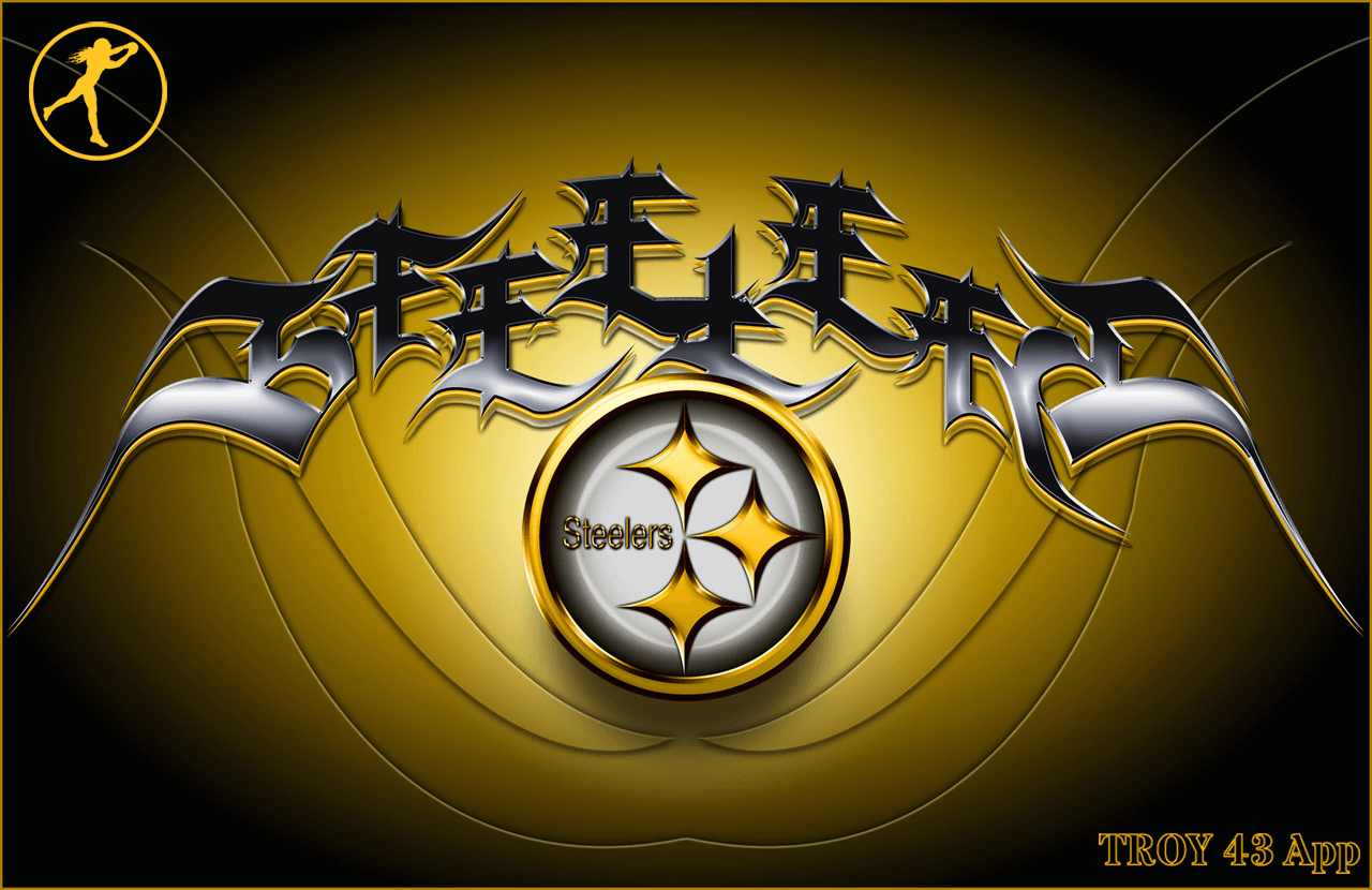 Pittsburgh Steelers Logo #3346 Wallpaper | Wallpaper Love Free · Download