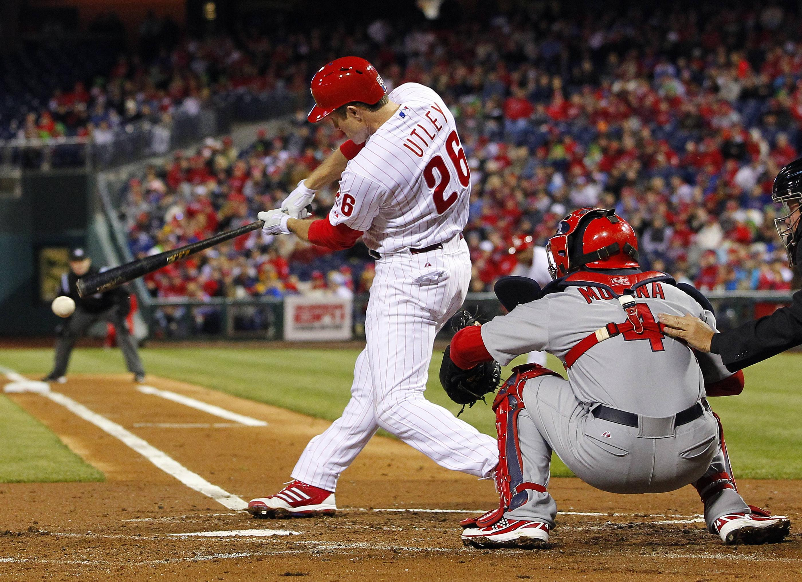 Chase Utley of the Phillies MLB photo