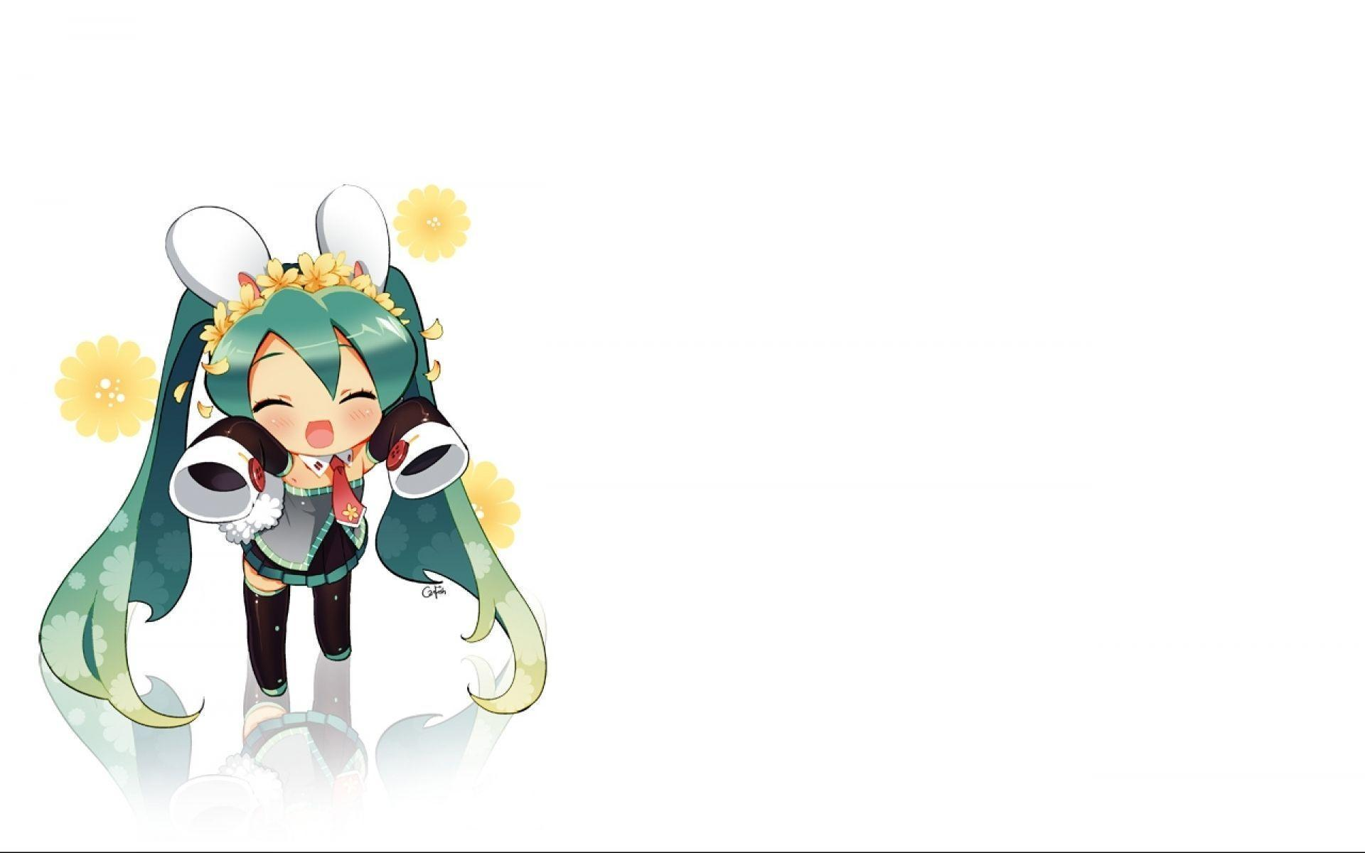 Vocaloid wallpapers wallpaper cave - Chibi background ...