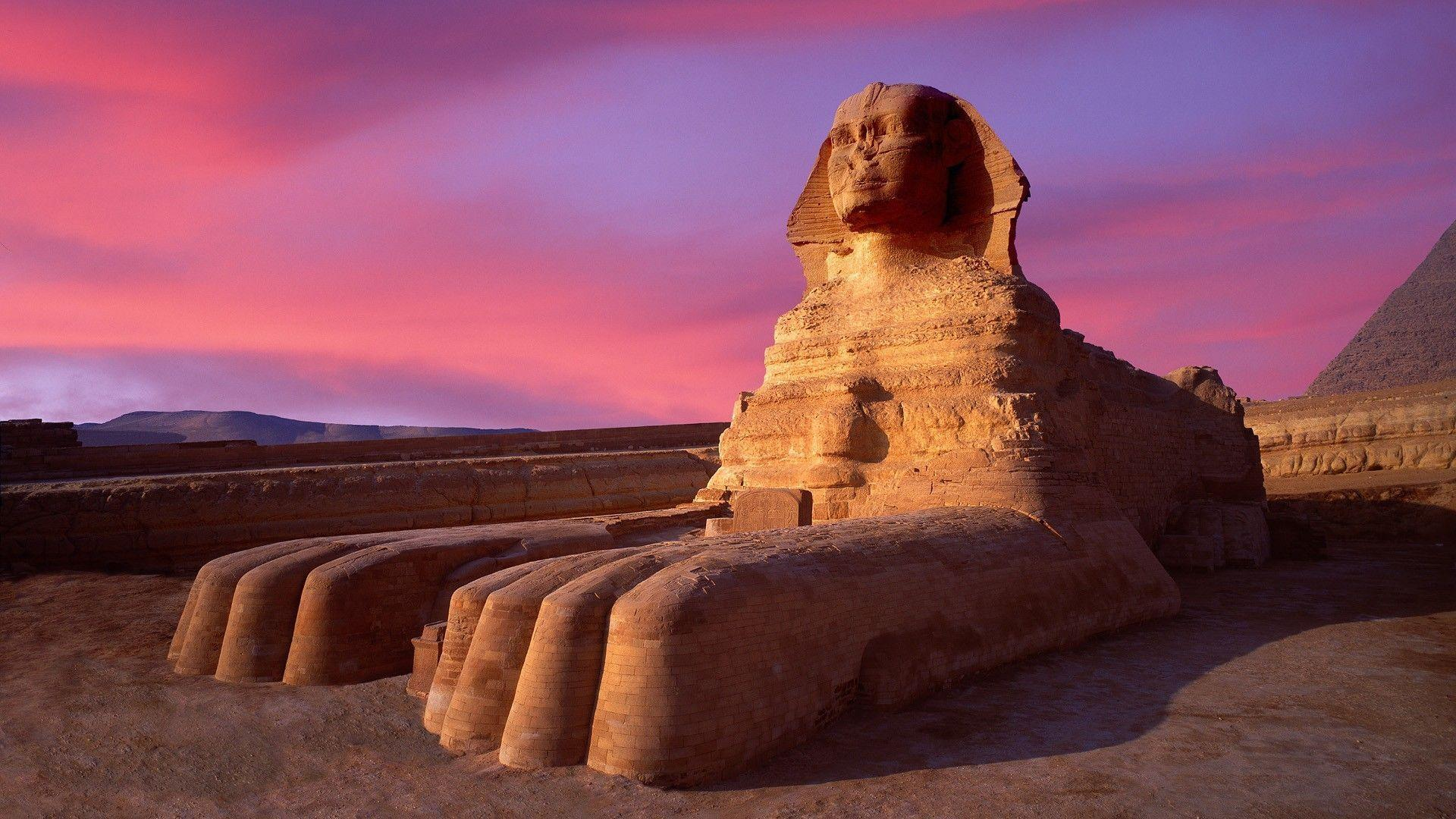 The Sphinx Egypt Wallpapers 1920x1080