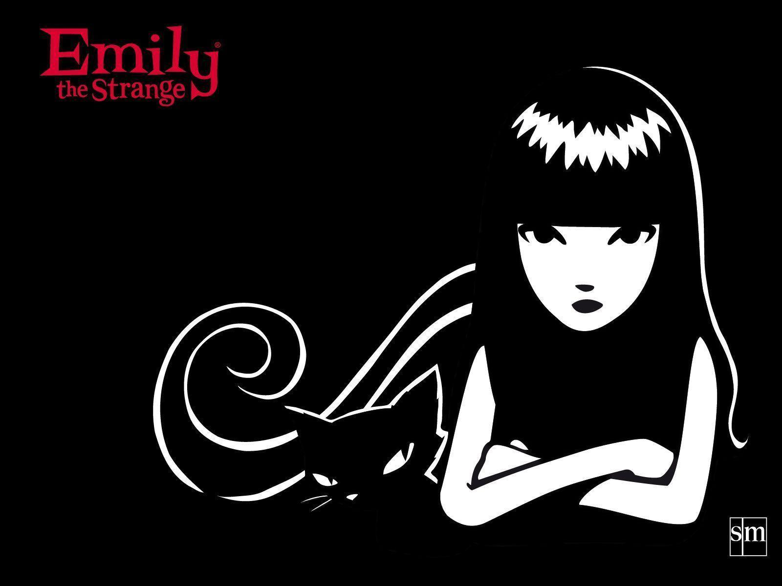 emily strange coloring pages - photo#35